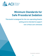 Minimum Standards - Safe Procedural Sedation Cover Image