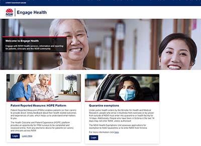 Engage Health screenshot