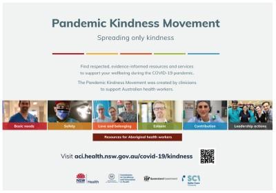 Pandemic kindness poster landscape orientation thumbnail