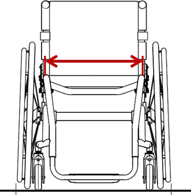 Seat width