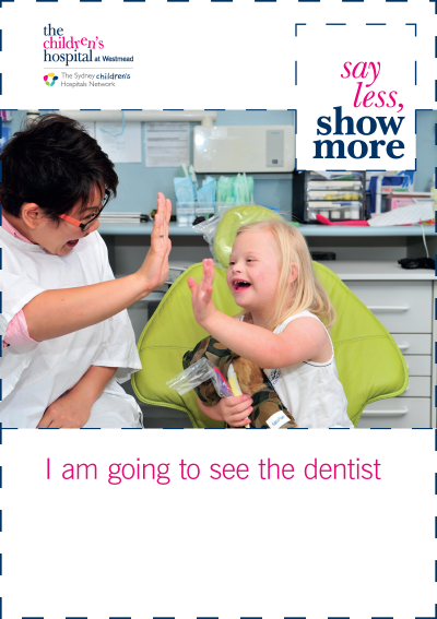 Visuals: I am going to see the dentist (child)