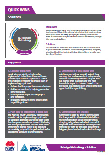 Download all Solutions fact sheets