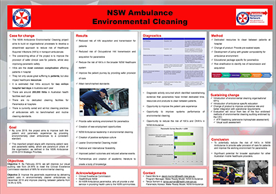 Environmental Cleaning of Ambulances