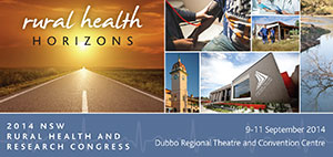 NSW Rural Health and Research Congress 2014