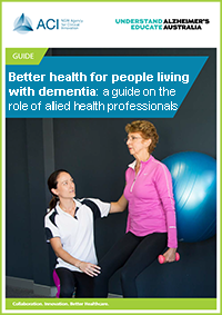 Better health for people living with dementia pdf