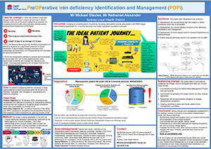 Preoperative Iron Deficiency Identification poster